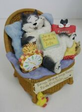 """San Francisco music box Angus and Friends """"Purrfect Life"""" plays music with box"""