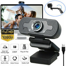 1080P Full HD USB Webcam for PC Desktop & Laptop Web Camera with Microphone USA