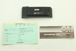 [Mint] Olympus OM  RECORDATA BACK 4 for OM-1, OM-2, OM-3 , OM-4 Ti from Japan