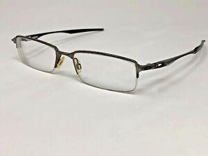 OAKLEY HALFSHOCK Eyeglasses Frame OX3119-0455 55-19-142 Brushed Chrome MZ97