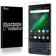 [2-PACK BISEN] FULL COVER Clear Screen Protector Guard For BlackBerry KEY2 LE