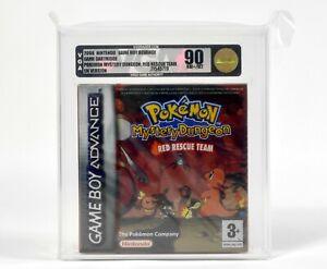 Nintendo Game Boy Advance,Pokémon Mystery Dungeon: Red Rescue Team,VGA 90 NM+/MT