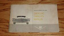 Original 1963 Cadillac Owners Operators Manual 63