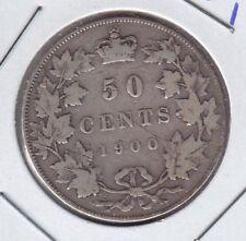 1900 Canada 50 cent
