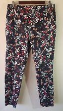 NWT TARGET Ladies Navy Floral  Pants Size: 14 RRP; $45
