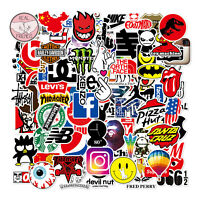 100pcs Skateboard Stickers Bomb Vinyl Laptop waterbottle Luggage Decals Dope