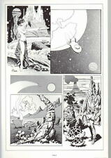 SPACE HEROES PRINT 2 w UNPUBLISHED ARTWORK by Al Williamson