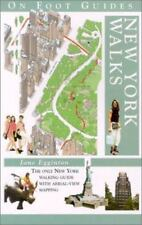 New York Walks (On Foot Guides), Egginton, Jane, Good Book