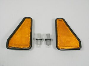 fits 03-08 Honda Element Side Marker Park Light Assembly PAIR L & R with Bulbs