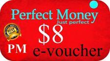 🔥🔥🔥 $8 e-perfect money PERFECT MONEY e-voucher NAJTANIEJ