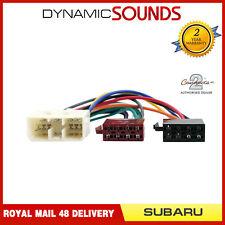 PC2-44-4 Radio de Coche Cableado Cable Adaptador Apto Subaru