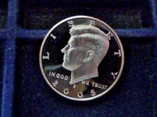 2005-S KENNEDY CAMEO HALF DOLLAR FROM PROOF SET (NOT ROLL) E-30-18