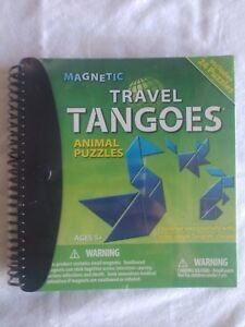 Smart Games Magnetic Travel Game-Travel Tangoes Animal Puzzles
