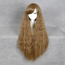 """Sybill Trelawney Cosplay Party Wig Long Brown Curly Synthetic Full Wigs 35.43"""""""