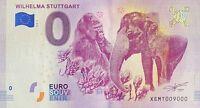 BILLET 0  EURO WILHELMA STUTTGART  ALLEMAGNE   2018 NUMERO 9000