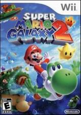 Super Mario Galaxy 2 NINTENDO WII jump planets coin collecting Yoshi arcade game