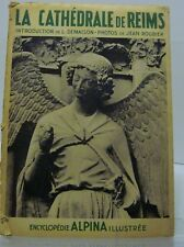 1938, La Cathédrale (La) Reims, 36 Photos by Jean Roubier, Folio, Italian