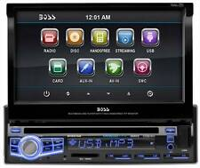 "Boss BV9976B 1-Din DVD Receiver w/ Motorized 7"" Touchscreen"