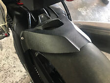 Rear wheel cover hugger mud flap raw carbon fiber guard carbonfibre s1000rr