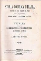 VILLARI - STORIA POLITICA ITALIANA - LEGATURA