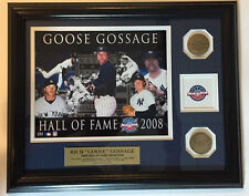 Rich Goose Gossage Yankees Highland Mint Hall of Fame Etched Print & Coins