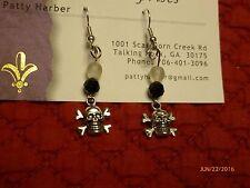 Skull & cross bones earrings