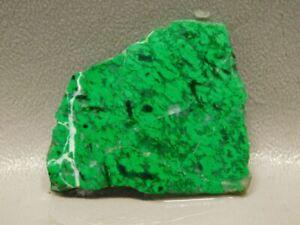 Maw Sit Sit Green Jade Small Unpolished Stone Slab Lapidary Rock #O10