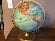 "REPLOGLE World Nation Series 12"" Globe, 1960's"