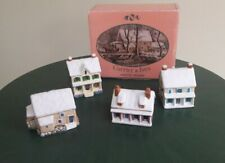 Currier and Ives Ornaments Winter Homes Display Harry T. Peters Vintage