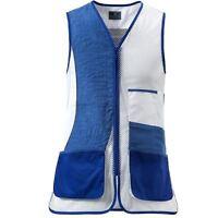 Beretta Trap Vest No Olimpic DX - Blue Beretta & White