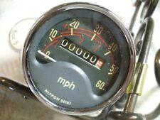 Honda S65 speedometer w/Rubber both NOS Never installed 1965 1969