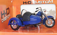 MAISTO 32420 Harley-Davidson Three-Wheled 1952 FL Hydra Glide - METAL Scala 1:18