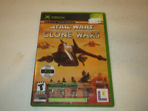 Star Wars Clone Wars / Tetris for Original Xbox  Very Good Condtion With Manual