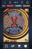 Topps Marvel Collect! Ant-Man Heritage SUPER RARE   DIGITAL