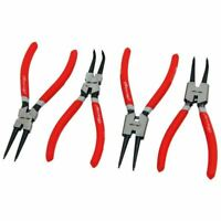 "4pc Circlip Plier Set 7"" snap ring Circlip Pliers internal external 175MM"