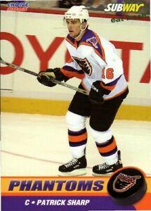 Patrick Sharp 2002-03 Philadelphia Phantoms
