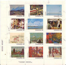 Used Canadian Stamps