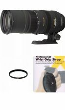 Sigma 150-500mm F/5-6.3 APO HSM DG OS Lens for Nikon DSLR-With 86mm UV and Strap