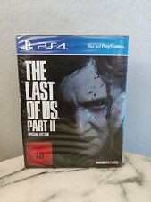 PS4 The Last of US Part II  Special Edition PlayStation 4 USK 18 NEU / OVP