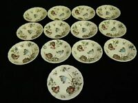 "Set of 13 Vintage Johnson Brothers ""Day in June"" Berry or Fruit Bowls England"
