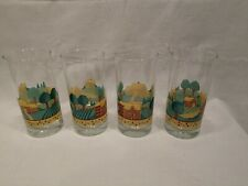 Corelle Drinkware Set Landscape 16oz Cooler Glasses Nice