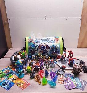 Huge Skylanders & Disney Infinity Bundle - Spyro Bag / Figures / Portals / Cards