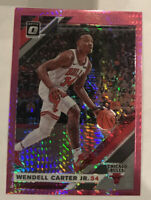 2019-20 DONRUSS OPTIC #94 WENDELL CARTER JR PREMIUM SILVER SCOPE HOLO #//249 QTY