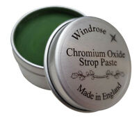 Chromium Oxide Paste 0.5 micron for Leather Strop Sharpening Straight Razors UK