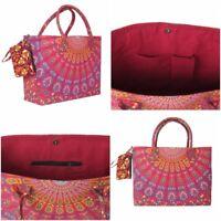 Bag Tote Beach Shopping Handbag Shoulder Women New Cotton Bags Shopper Purse