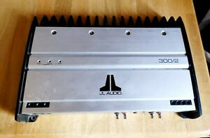 JL Audio 300/2 300-Watts RMS 2-Channel Car Audio Subwoofer Amplifier