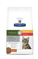 Hill's Metabolic + Urinary Stress Chicken Flavor Dry Cat Food 6.35lb Bag