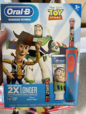 Oral-B Kids Toy Story Rechargeable Electric Toothbrush + Toothpaste Retail 39.99