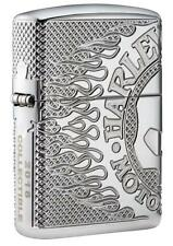Zippo 2018 Limited Production, Armor Harley Davidson Lighter, 29741, New In Box