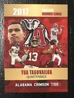 2017 Tua Tagovailoa College Rookie Card Rookie Phenoms Limited Crimson Tide